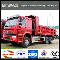 Powerful 10 Tires Sinotruck Howo 6x4 dump truck With China supplier