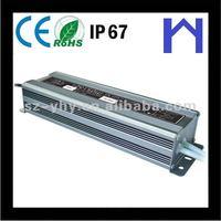 IP67 150W LED lights Waterproof Power supply with CE ROHS UL