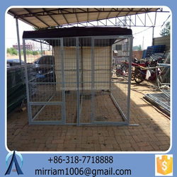 2015 Baochuan characteristic hot sale easy assemble dog kennel/pet house/dog cage/run/carrier