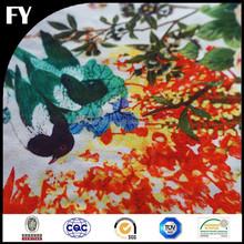Custom high quality digital printed poly cotton twill fabric