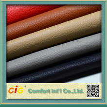 High Quality Factory Price PU PVC Synthetic Leather, Synthetic Leather Fabric
