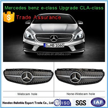 hot for w212 e-class. grill.E180 260 320L AMG shiny diamonds on w212 front grill 2014-2015