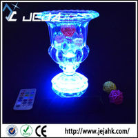High demand products india battery operated color changing led light base for centerpieces