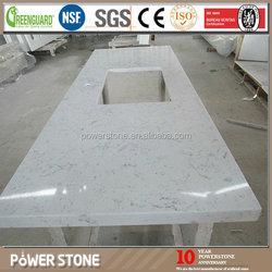 Top Grade Quartz Artificial Stone Slab Cost For Construction