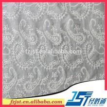blanco de algodón bordado de encaje apliques de encaje calado diseños de bordado