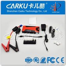 Carku mini jump starter multi-function e-power 20 micro start power bank car jump starter battery charger 12v