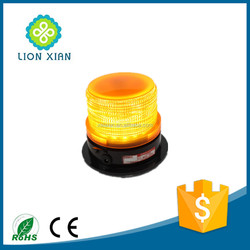 solar powered amber led beacon warning light