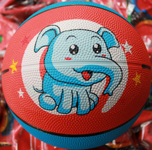 Low price classical league colorful mini rubber basketball