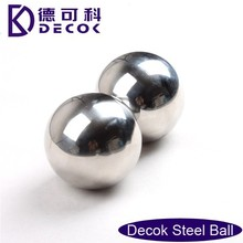 201 Puching mirror finish stainless steel ball