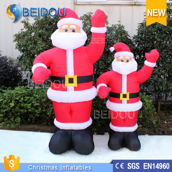 Hot sale father inflatable christmas decorations for sale events