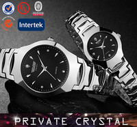 High quality fashion crystal watch, new arrival lovers watch, hot selling watch