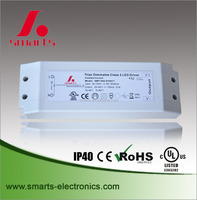 plastic cover 1050mA 32W Triac dimmable constant current led driver