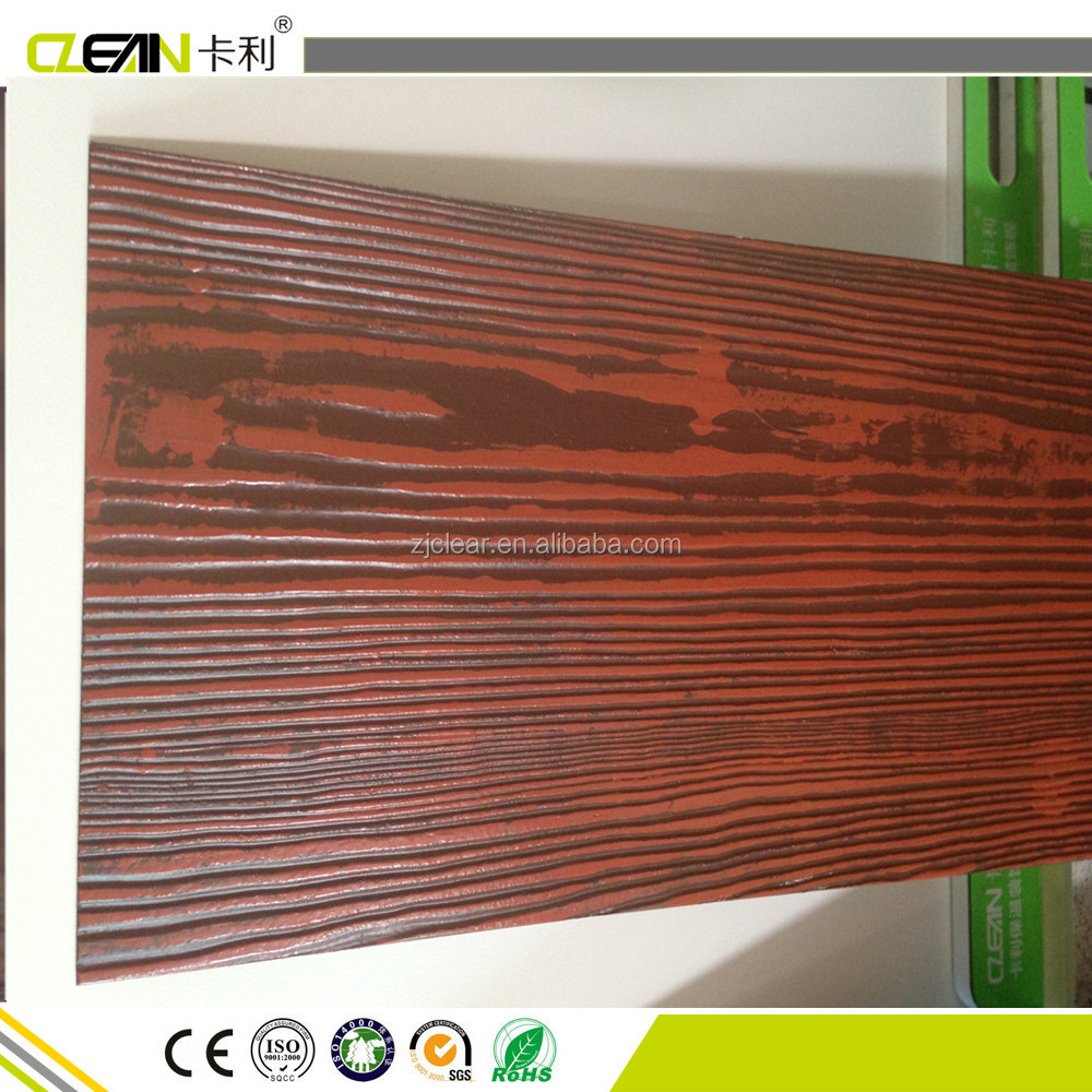 Painting Cement Board : Painted wood grain fiber cement siding panel