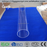 High temperature resistant clear fused sight glass tube for sale