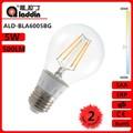 Alibaba expressa jiangsu china conduziu a lâmpada de incandescência a60 5w e27/e26 230v/110v com cc driver