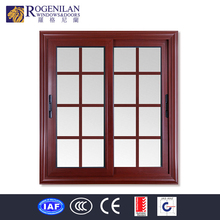 ROGENILAN modern frosted glass aluminum profile house window grille design india