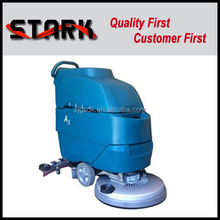 Electric floor scrubber with floor cleaning brush for supermarket