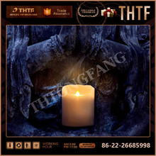 romantic Scented Led Candle for Wedding gift
