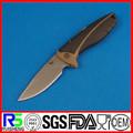 mais popular e melhor venda fixo blade punho de madeira militar faca rambo