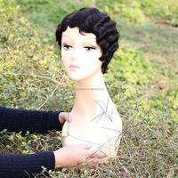factory price cheap fashion 100% Brazilian virgin hair wigs high quality top grade bob human hair wig