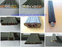 for japan/Australia/asia/Europe/ flat cable elevator cable 36cores flat elevator cable