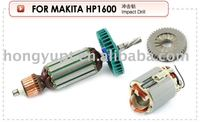 Industrial electric tools spares power tools spares armature rotor stator starter field coil gear Alternator for Makita HP1600