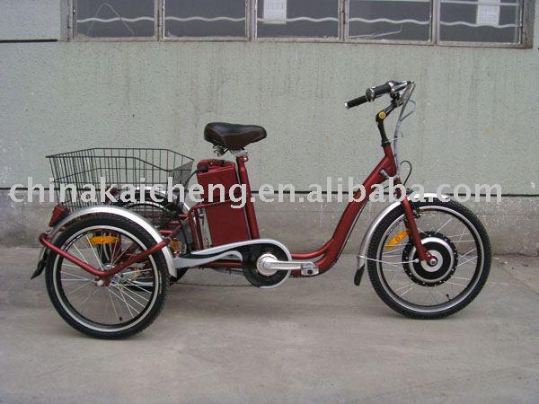 Triciclo eléctrico para de carga con 36 V de la batería de litio