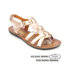 bulk open toe strap crossing ankle strap slingback hot sale cheap lady sandal