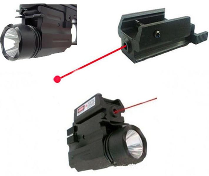 לייזר אדום אור LED CREE פנס 17 19 20 21 22 23 30 31 32