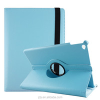 Promotional PU leather stand case cover for iPad air 2, auto sleep/wake up function leather case cover for iPad