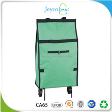 JEYCO BAGS Wenzhou manufacturere custom roller trolley shopping bag