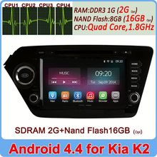 Factory Price Ownice C200 Cortex A9 Andriod 4.4 2G DDR3 Ram + 16GB Flash dvd gpd for kia k2 rio 2010 2011