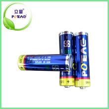 Hot Selling AA AM3 LR6 Alkaline battery 1.5 V