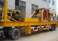 Competive Price For Mobile Stone Crusher With CE Certificate