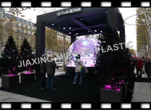 large plastic domes