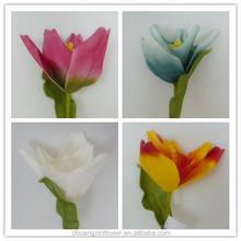 flowers, tulip artificial eva foam flower making