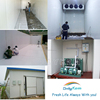 frozen seafood cold room refrigeration unit