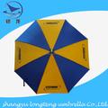 170 T poliéster caliente venta promoción paraguas de golf, exterior sombrilla golf