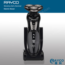 Factory electric shaver price with charge stand 3 heads