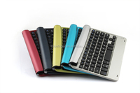 Cheap price slot Bluetooth keyboard for iPad Mini1/2/3 with ABS material many colors