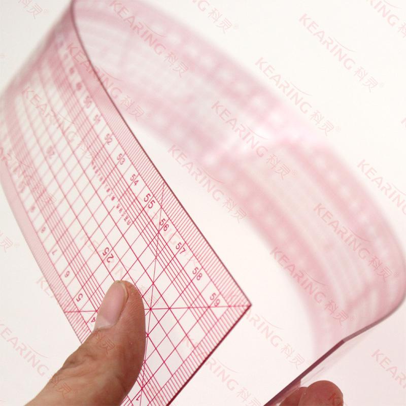 Kearing Oem Pvc Grading Straight Rule 60cm,Flexible Plastic Sewing ...