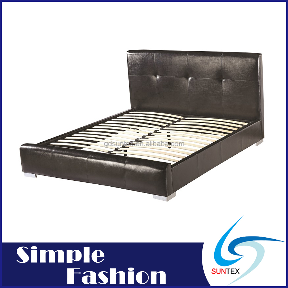 Leather Upholstered Bed 1000 x 1000