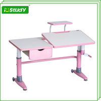 Adjustable pink furniture children