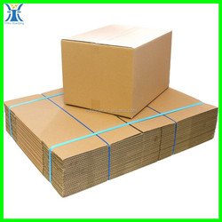 2015 yiwu New product strong brown craft wholesale plain handmade blank shipping boxes packing box