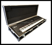 ATA Aluminum Road Case for Yamaha Motif XF8, ES8, and XS8, with Recessed Casters