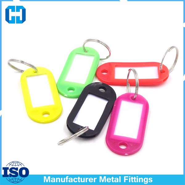 colorful key ring key tag