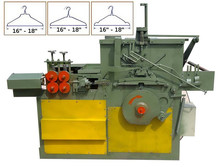 Metal / PVC wire coated hanger making forming machine