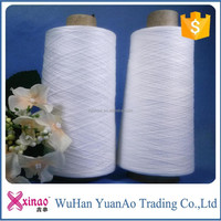 made in china stock lot in Hanchuan factory for garments spun polyester yarn
