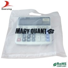 2015 hot selling poly mailer bag plastic with handle self adhesive flap