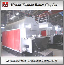 Travelling grate coal boiler 4 ton steam boiler in Indonesia